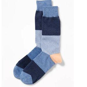 Other - mens blue stripe socks
